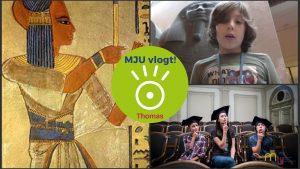 MJU vlogt! Waarom hebben Egyptenaren blauwe haren?