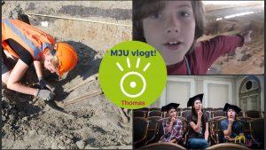 MJU vlogt! Hoe ziet de werkdag van een archeoloog er uit?
