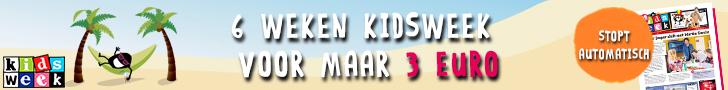 6 weken kidsweek voor maar 3 euro